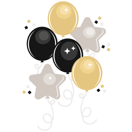 image royalty free stock Years eve clipart. New year s balloons