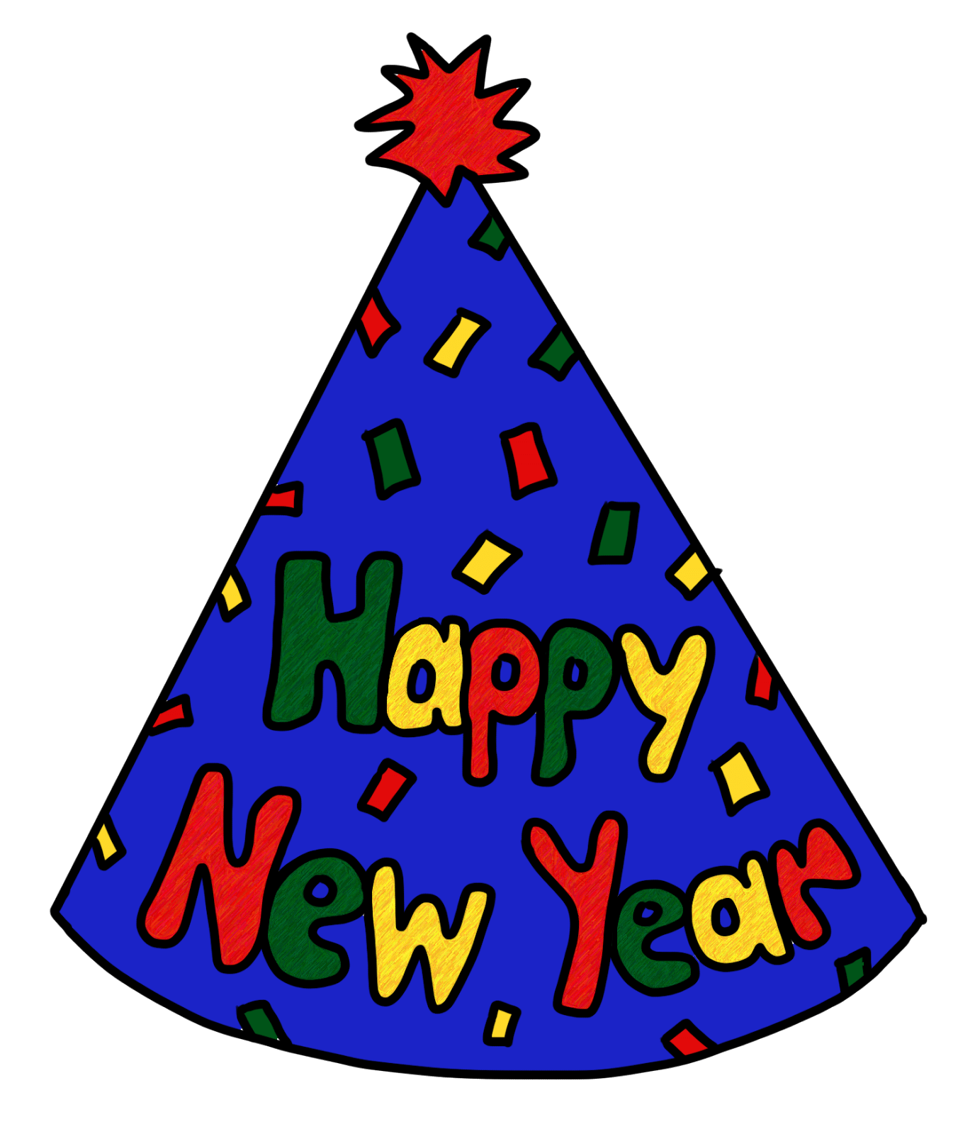 vector library library Animated happy new year clipart. Years eve clipartdeck clip
