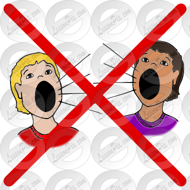 picture free Yell clipart. Do not picture for