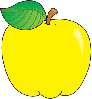 picture black and white library Apple library free images. Yellow apples clipart.