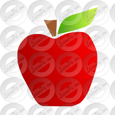 banner library download Yellow apples clipart. Apple stencil for classroom.