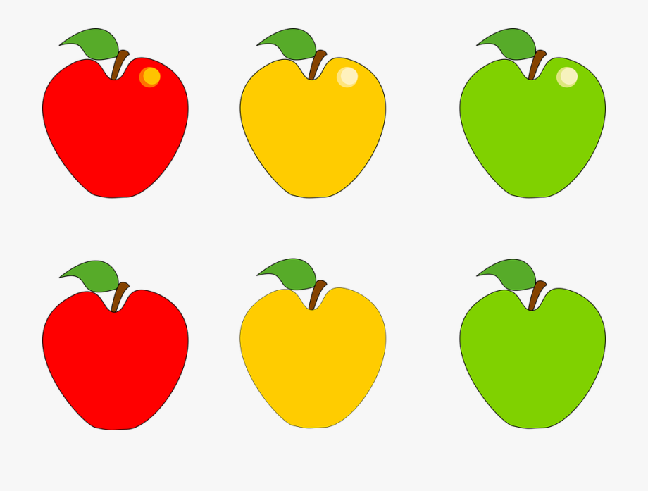 picture free Yellow apples clipart. Png red and green.