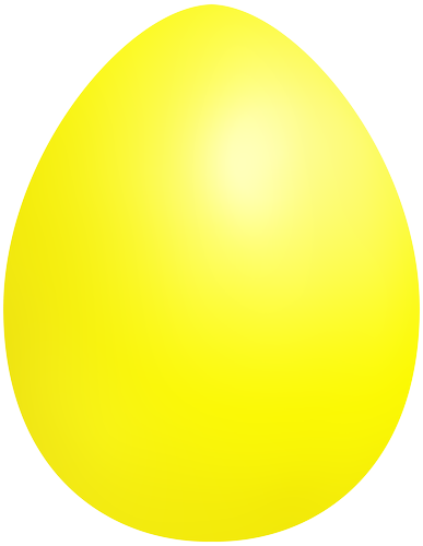 svg freeuse Yellow Easter Egg PNG Clip Art
