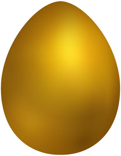 vector freeuse stock Gold Easter Egg PNG Clip Art