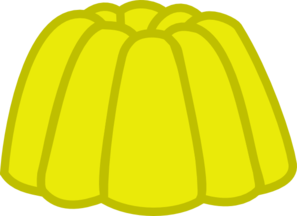 graphic royalty free stock Yellow clipart jello. Gumdrop clip art at