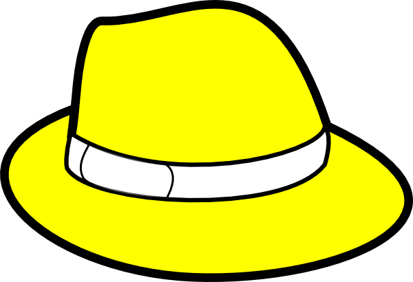clip royalty free stock Yellow Hat Clip Art at Clker