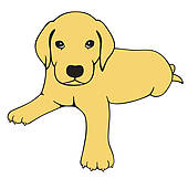 clipart Free labrador cliparts download. Yellow lab clipart