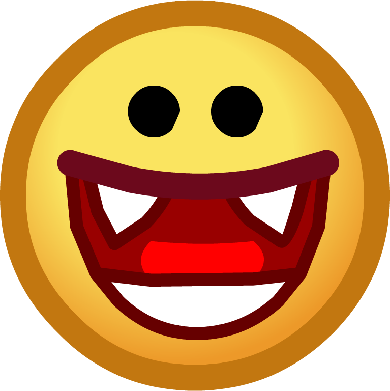 royalty free Yes clipart smiling face. Image halloween emoticons vampire