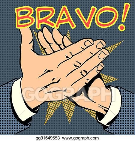 picture library library Yes clipart bravo. Clip art vector hands