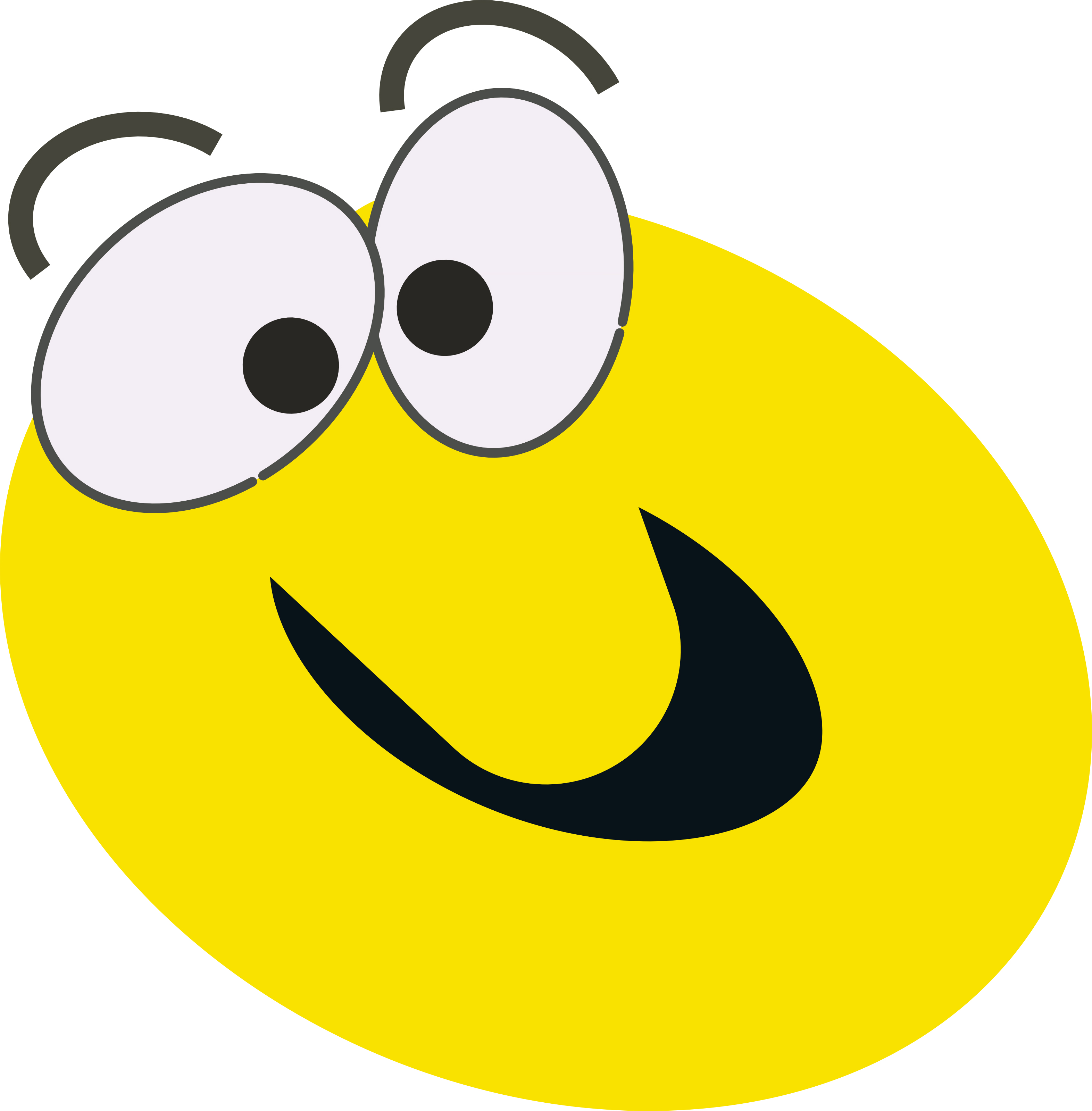 vector free library Free cartoon images download. Yes clipart calm face