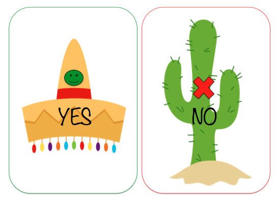 clip transparent library Yes clipart chose. Teach speech no fiesta