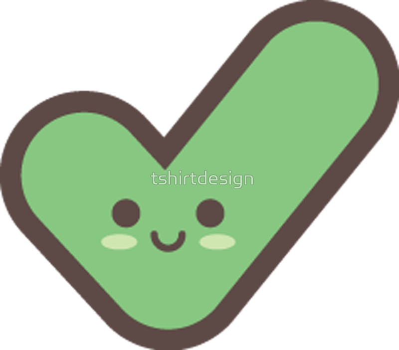 jpg free Checkmark transparent free for. Yes clipart cute