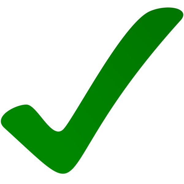 image transparent stock Yes clipart green. Check mark checkbox clip