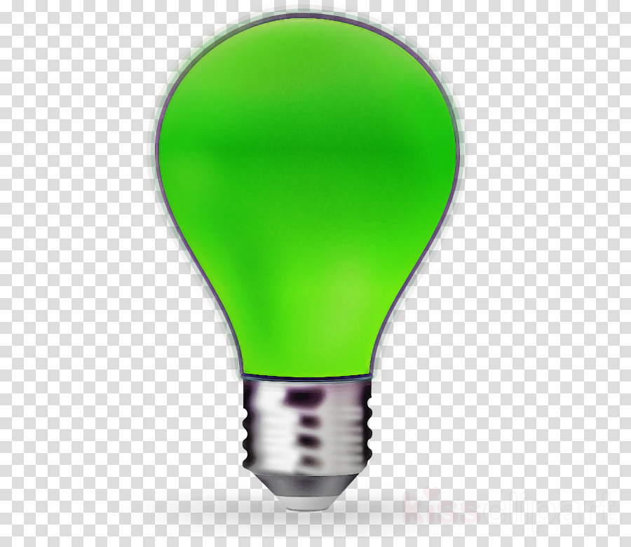 png black and white library Yes clipart green light. Bulb transparent