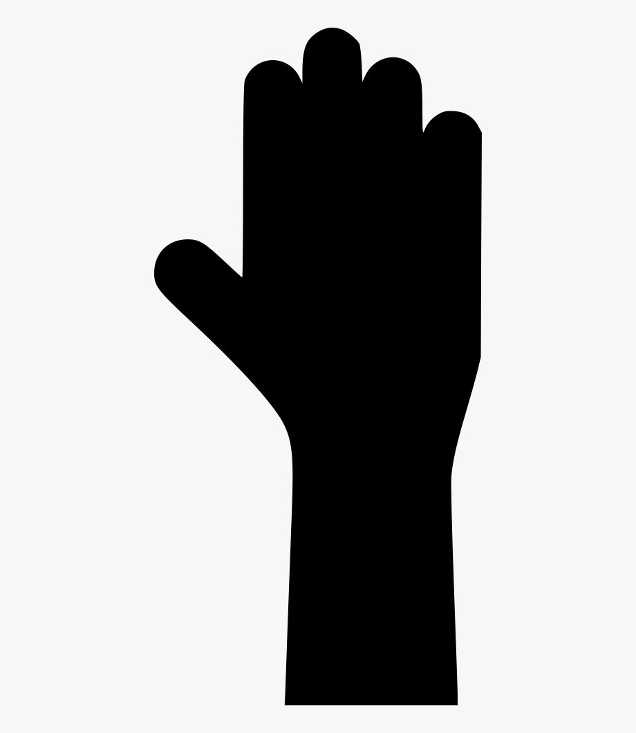 royalty free stock Black and white library. Yes clipart hand