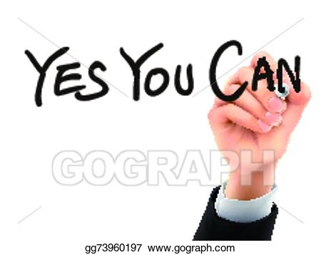 image transparent stock Yes clipart hand. Vector art you can
