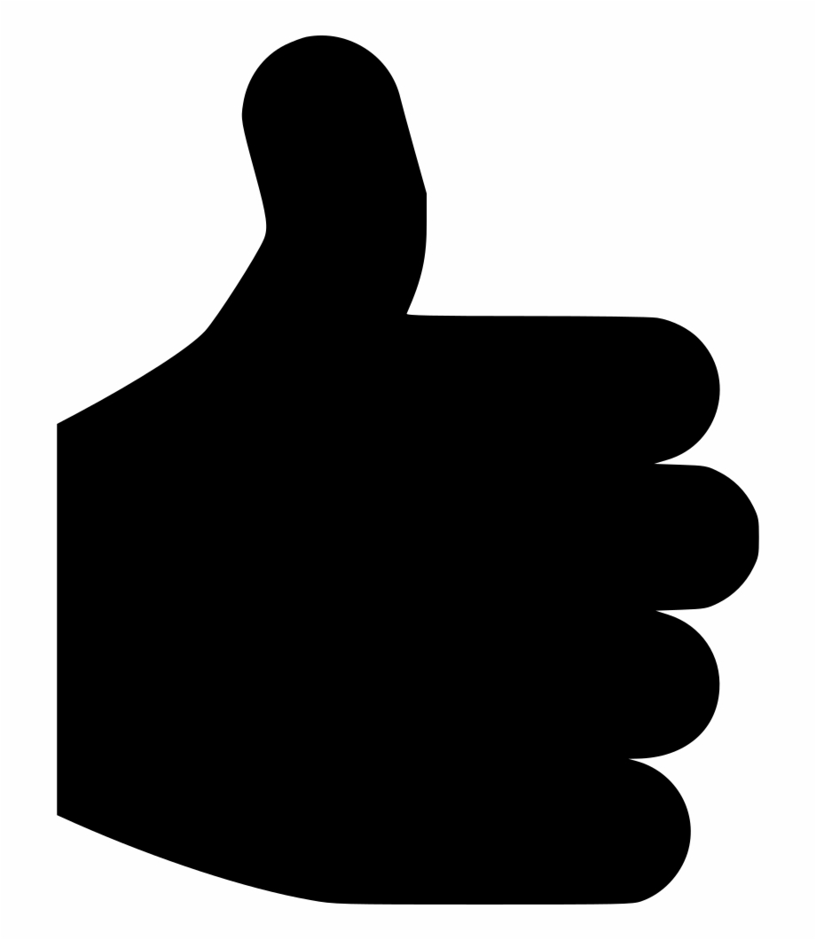 clipart transparent download Finger approve success thumb. Yes clipart hand ok