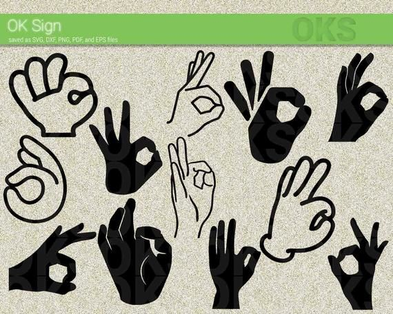 free Pin on products . Yes clipart hand ok