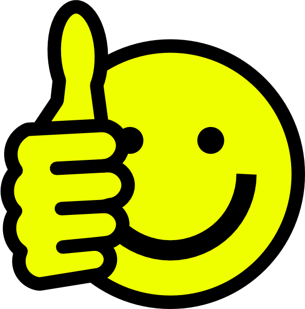 clip stock Yes clipart happy. Smiley face thumbs up