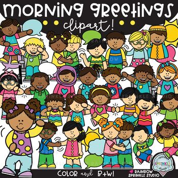picture freeuse download Morning greetings school kids. Yes clipart inspired