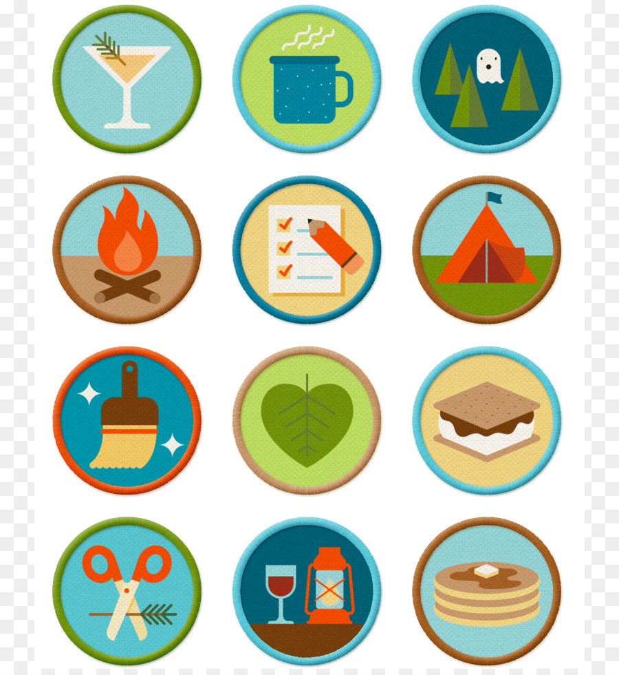clipart royalty free library Camping cartoon png download. Yes clipart merit