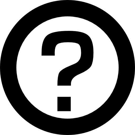 vector royalty free Circle interface faq symbol. Yes clipart question mark.