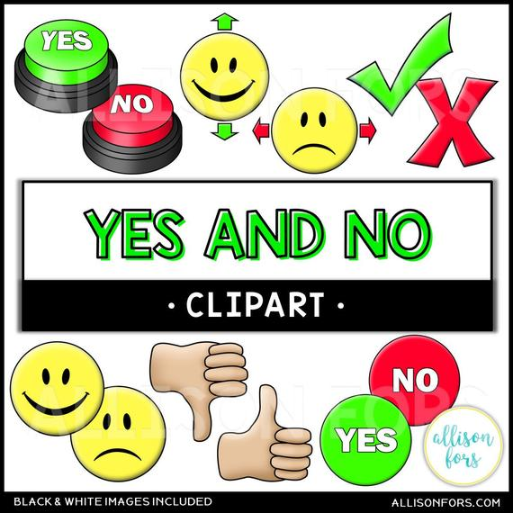 png stock Yes clipart smile. And no clip art