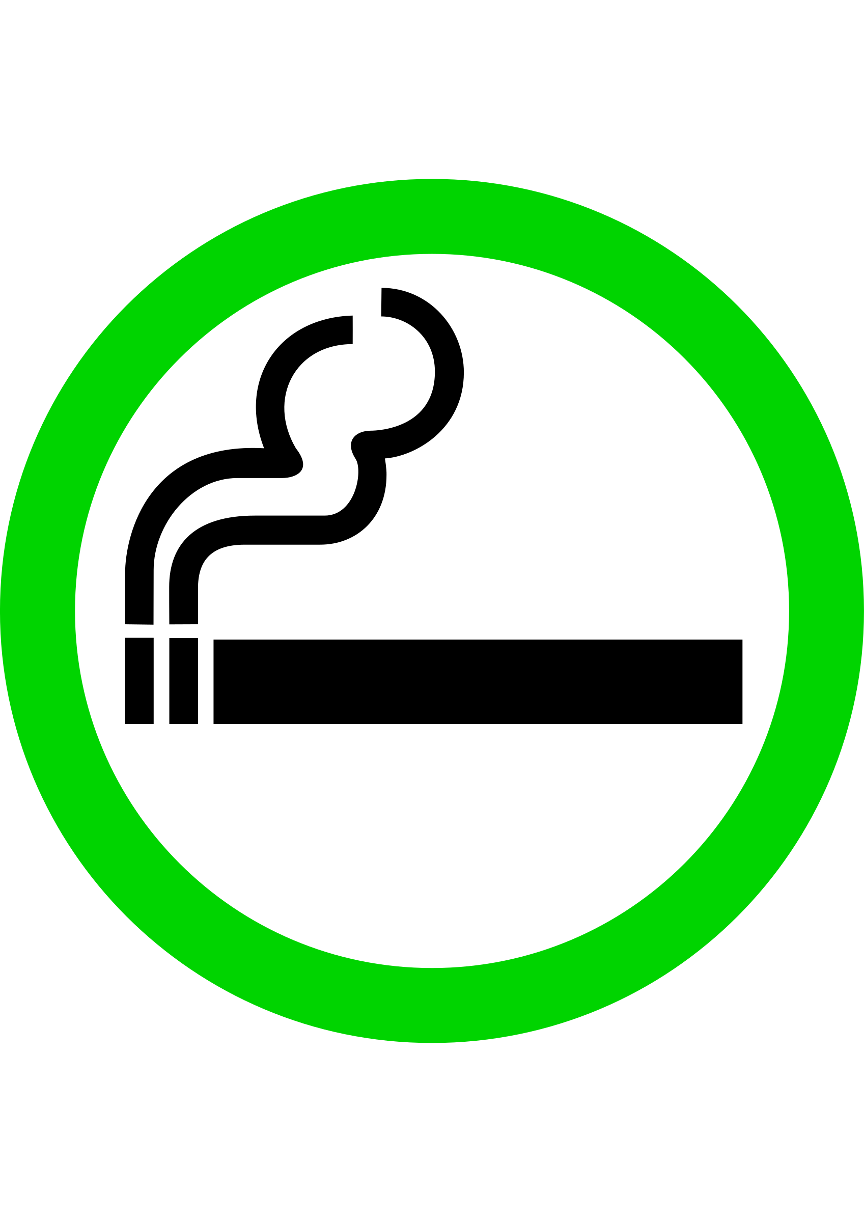 graphic royalty free Yes clipart symbol. Smoking area big image