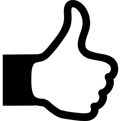 clipart royalty free library Yes clipart thumbs up icon. Thumb sign free signs