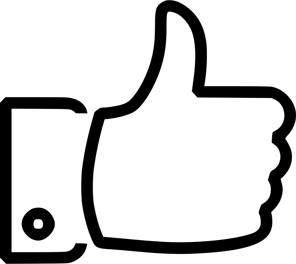 vector library Yes clipart thumbs up icon. Like thumb thumbup agree