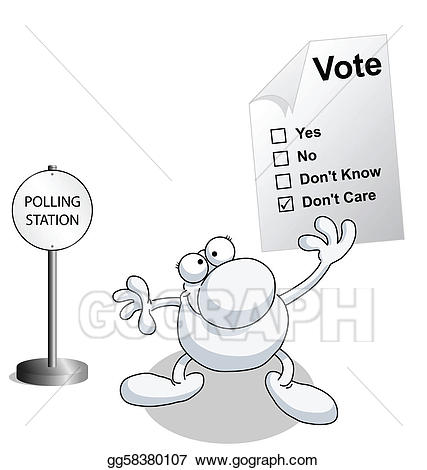 svg royalty free stock Eps illustration man holding. Yes clipart voting paper