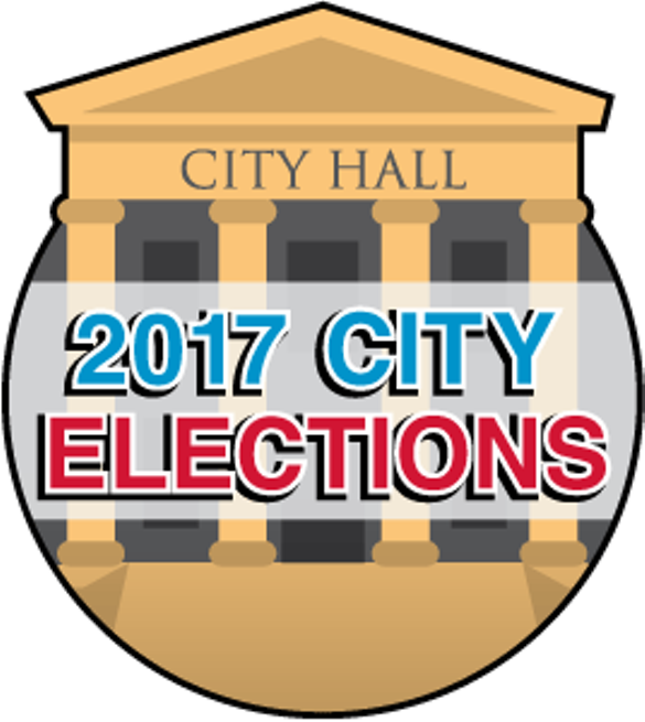 banner royalty free stock Yes clipart voting paper. City ballot issues just