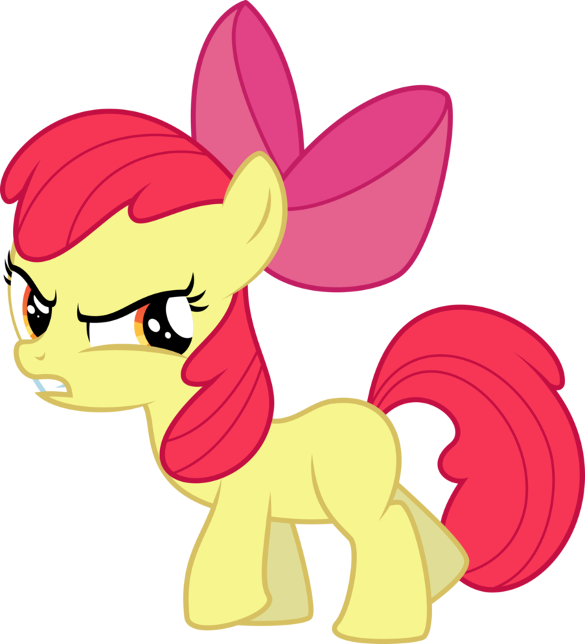 clip free library Angry Applebloom by Yetioner on DeviantArt