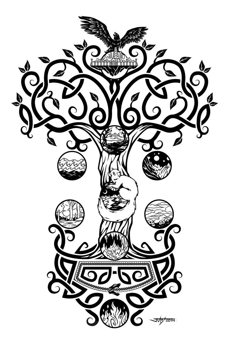 png free library Yggdrasil by Snake