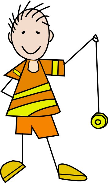 picture transparent library Yo yo clipart kid. With a clip art
