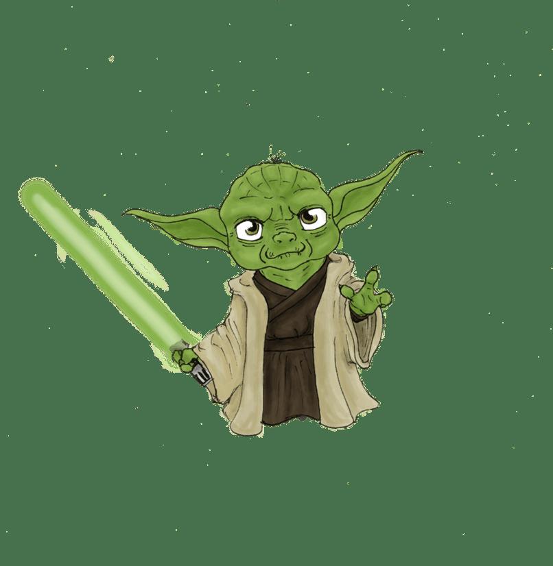 clipart Yoda Cartoon Cute