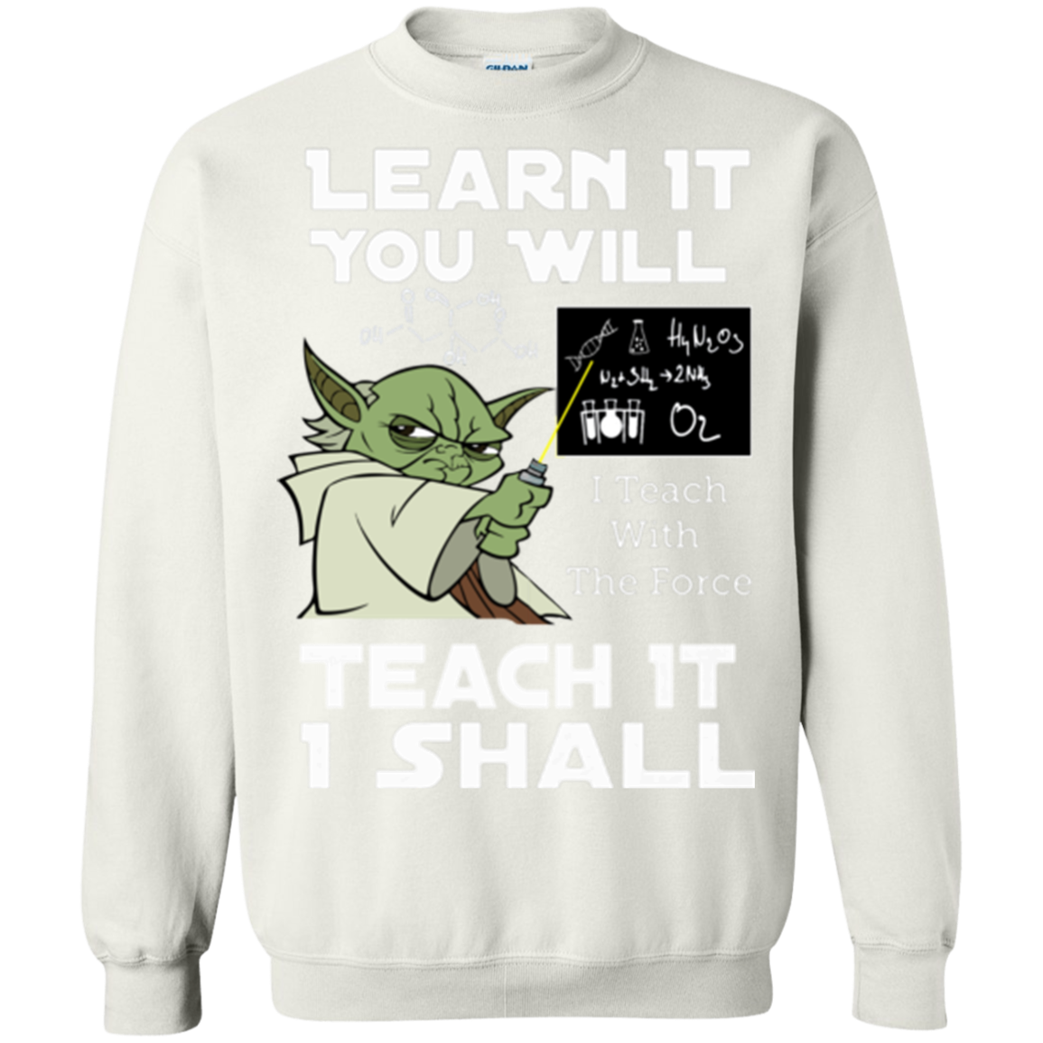 transparent Yoda Clipart Learn It You Will I Teach With The Force Teach It I