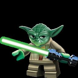 graphic transparent Lego Yoda Clipart