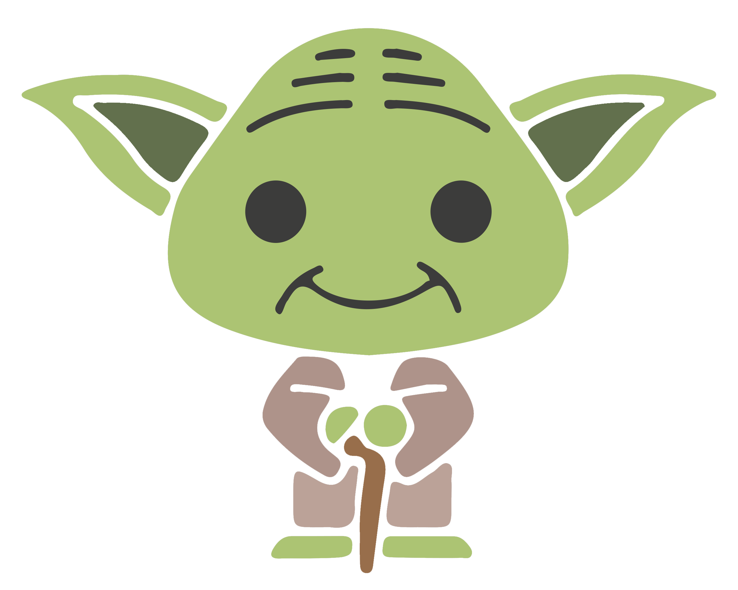 clip art download Yoda Greeting card Fathers Day Christmas card