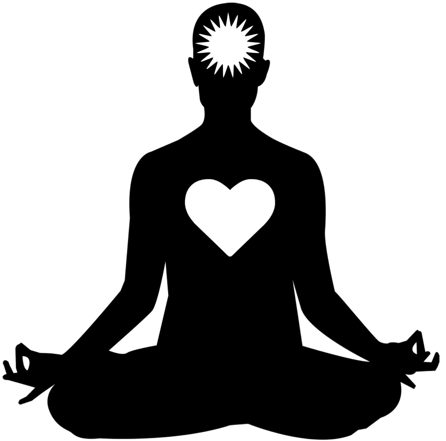 royalty free Yoga clipart. H meditation health and
