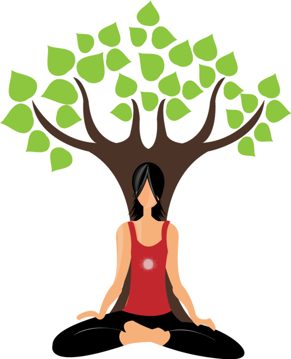 vector freeuse library Yoga Illustration by Dhruv Sharma