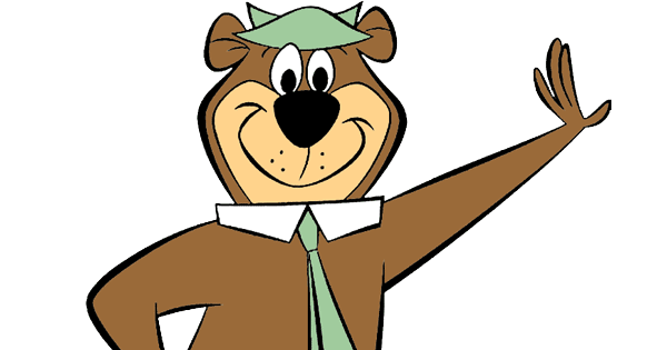graphic royalty free download Clip art cartoon . Yogi bear clipart
