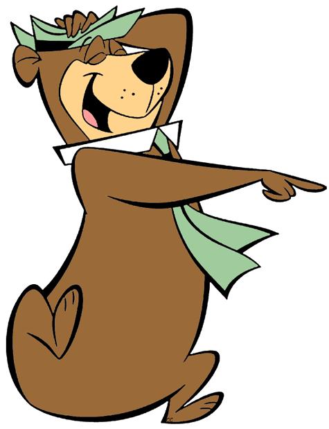 library Yogi bear clipart. Premium family w e