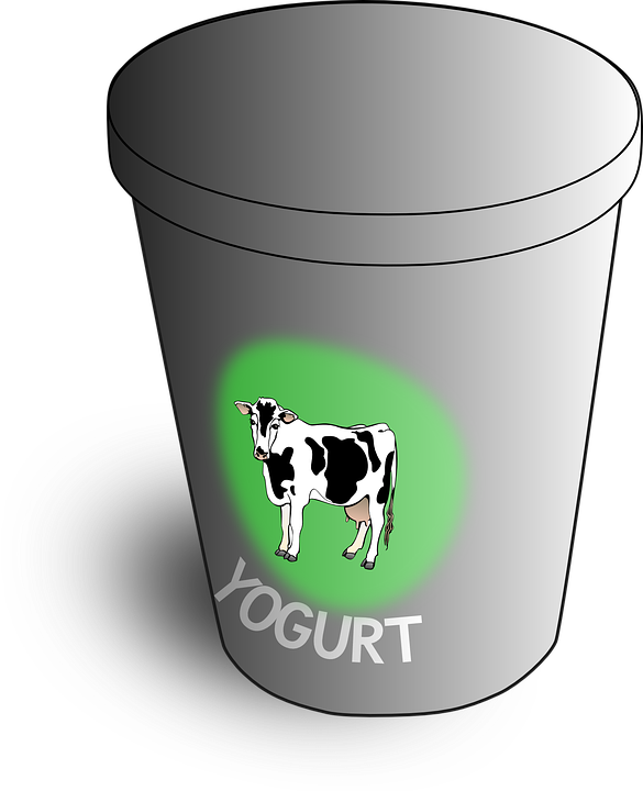 image royalty free stock Container free on dumielauxepices. Yogurt clipart