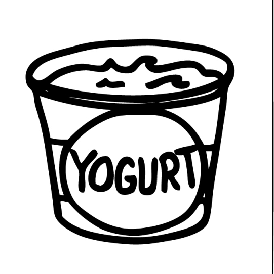 vector library library Free cliparts download clip. Yogurt clipart