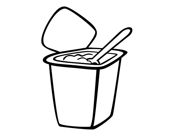 clip library download Yogurt Drawing at GetDrawings
