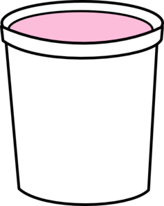 svg library download Yogurt Clipart pink