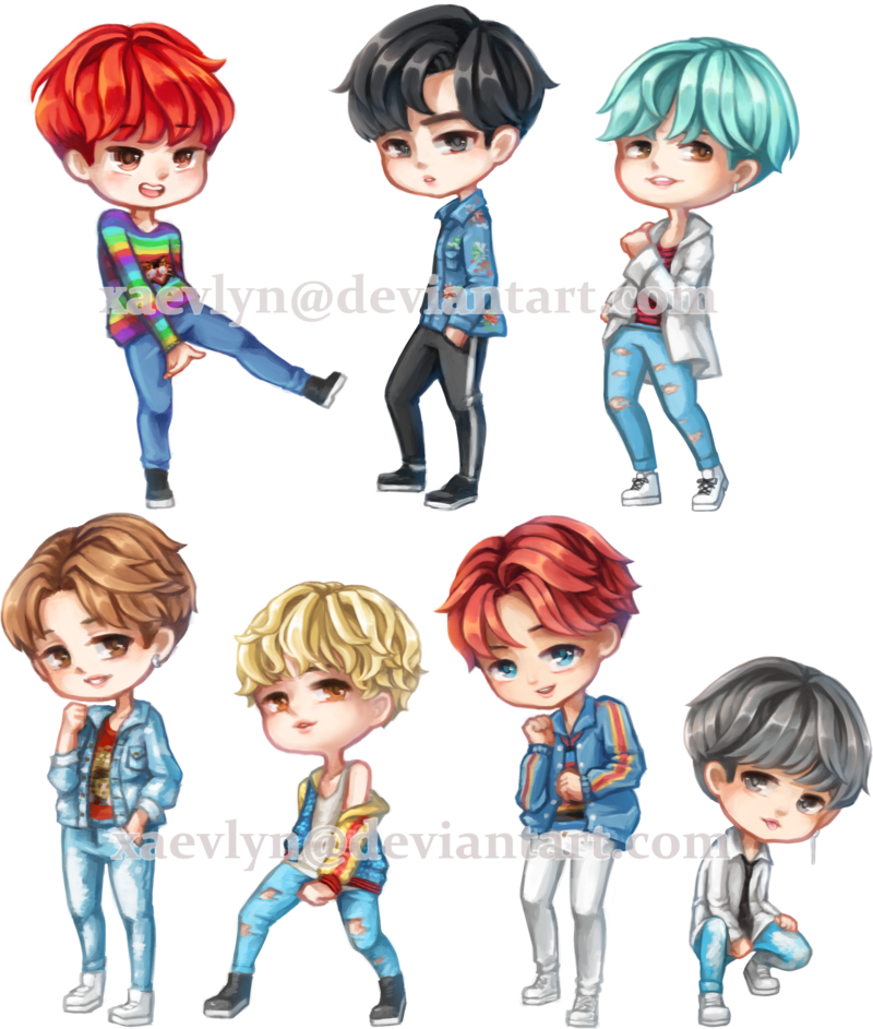 picture free library BTS DNA chibi by xaevlyn on DeviantArt