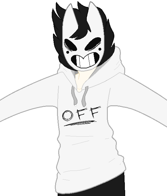 jpg free stock A quick pixel drawing of my Zacharie for my OFF School AU