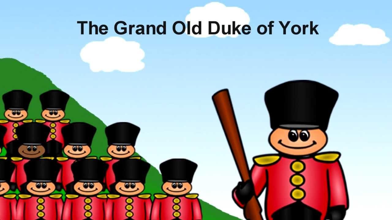 graphic Grand old duke of. York clipart